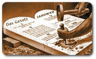 Das Gesetz JAHUWAHs